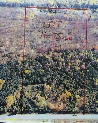 ***Own 16.75+/- Acres Of Land In Northern Maine Next To The Canadian Border***