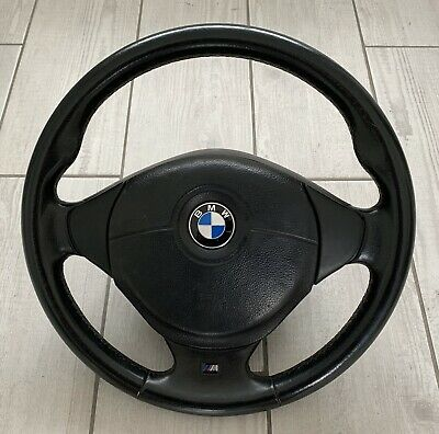 Genuine BMW E36 M3 Steering Wheel And Air Bag