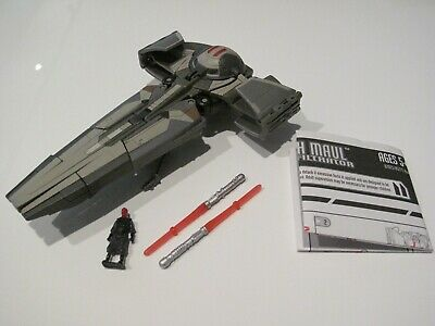 Transformers - Star Wars Crossovers Darth Maul to Sith Infiltrator (Used)