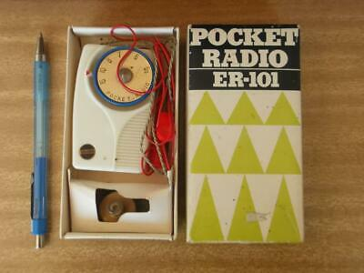 Collectable 'Eastern ' Crystal  Radio  Set In Box. Made In Japan