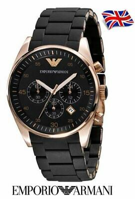*New* Mens Authentic Emporio Armani Chrono Watch - Ar5905 - Rrp £299