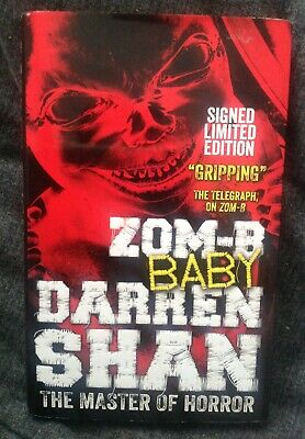 Zom-B Baby Darren Shan Signed edition