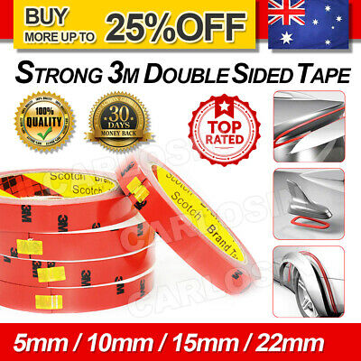 3M Strong Permanent Double Sided Super Sticky Versatile Roll Tape For Vehicle