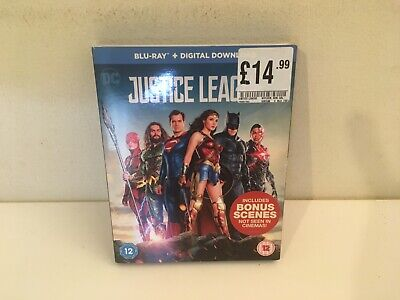 Justice League (Blu-ray, 2017) Tested VGC Free Postage