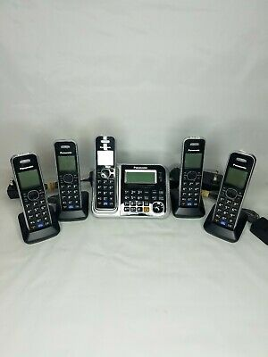 Panasonic KX-TG7871 5 Handset Cordless Home Phone System With Bluetooth