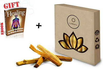 Lamsola Palo Santo sticks 50g - 100% Natural for Purifying, Cleansing,...