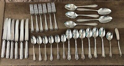 VTG Lot Of 31 R.& B. A1 (Reed & Barton?)silver plated Flatware
