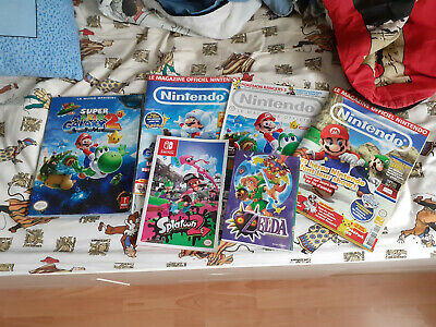 Lot magazines guides PRIMA et manga Nintendo officiel