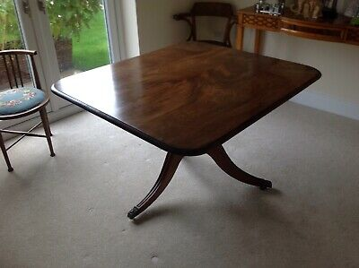 Victorian mahogany tilt top breakfast or dining table