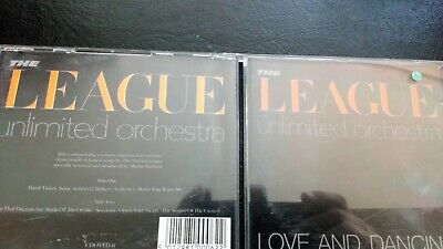"The League Unlimited Orchestra ""Love And Dancing  ""  Cd Album"