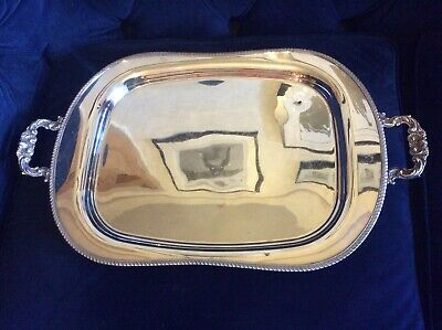 Stunning, Large Sheffield Heckworth Silver Plated Butlers Tray