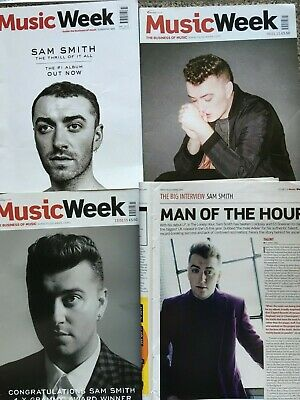 SAM SMITH - Selection of MUSIC WEEK Music Industry Magazines