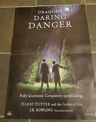 JK Rowling Harry Potter Goblet of Fire Jim Kay Illustrated Edition Promo Poster