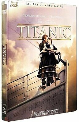 3D @ 4 Blu-Ray @ Titanic @ French Limited Steelbook @ New @ Sealed