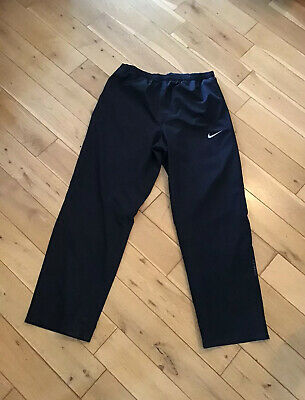 Nike Mens Black Storm-Fit Golf Waterproof Overtrousers Size Xl Bnwot Immaculate