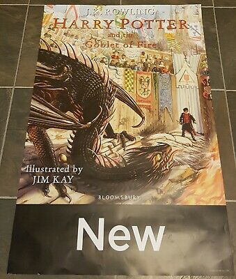 JK Rowling Harry Potter Goblet of Fire Illustrated Jim Kay Edition Promo Poster