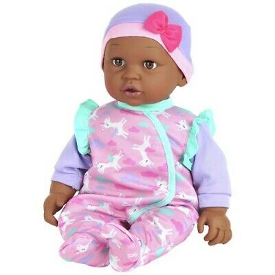Chad Valley Babies to Love Cuddly Doll - 16inch Black Doll