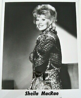 Publicity photo of singer/actress Sheila MacRae, Gordon MacRae's wife, 1950s