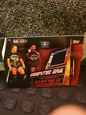 Topps Wwe Slam Attax Universe - Undisputed Era Ring Mat Relic Card Nxt Takeover
