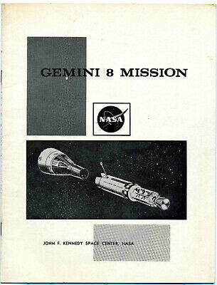 Gemini 8 Mission Overview Booklet - NASA - Kennedy Space Center - 1966
