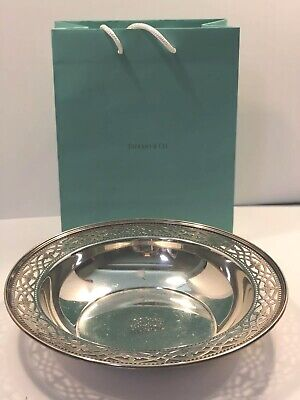 Estate Tiffany & Co Sterling Silver Large Centerpiece Bowl John Moore No Reserve