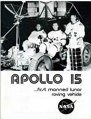 Apollo 15 Mission Overview Booklet - NASA - Kennedy Space Center 1971
