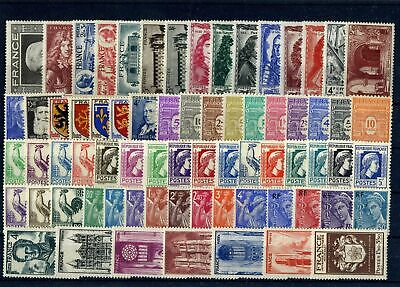 France Annee Complete 1944 Neuf** Sans Charniere