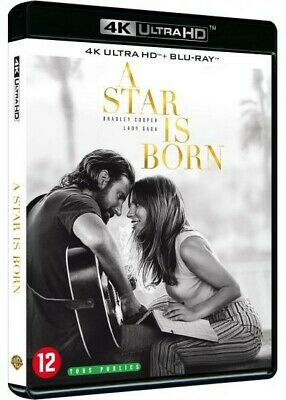 Bluray 4K + Blu Ray 2K A Star Is Born Comme Neuf !