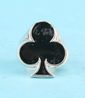 China Solid Silver Hand-Carved Plum Blossom Ring Exclusive Custom Collec Old