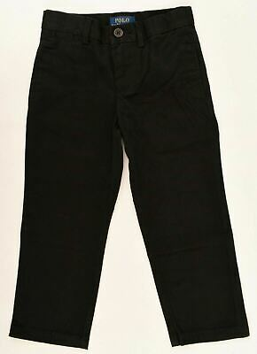 POLO RALPH LAUREN Boys' Kids' Chinos, Pants, Trousers, Black, sizes 2 3 4 years