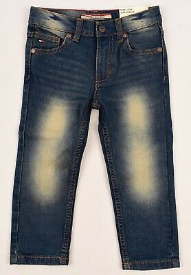 TOMMY HILFIGER Boys' Kids' REBEL JEANS, Stretch Denim , Skinny Fit, size 2 years