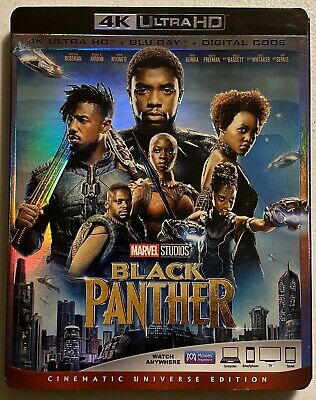 Marvel Black Panther w/ Slipcover (4K UHD Blu-ray Disc)