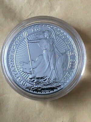 2019 1oz silver Britannia Bullion Coin
