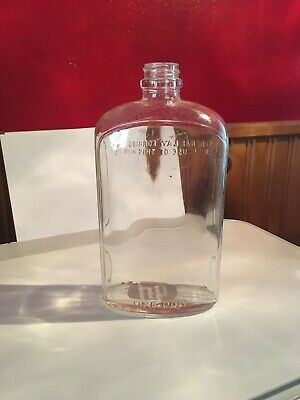 Unique Vintage Apothecary Medicine Elixir Bottle Collectible