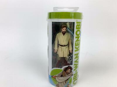 Star Wars Galaxy of Adventures Wave 3 Jedi Obi-Wan Kenobi 3.75 Figure Mini Comic