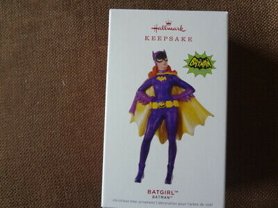 Hallmark Ornament Batman Batgirl 2019 Limited Condition Mint In Box