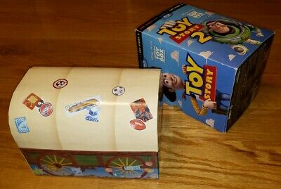 Disney Pixar Toy Story Ultimate Toy Box Collection Blu-Ray DVD 10 Disc Set Chest