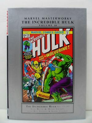 Marvel Masterworks The Incredible Hulk 10 Hardcover Book