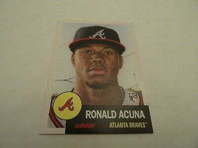 Ronald Acuna Jr. Topps Living Set # 19 Rookie Card