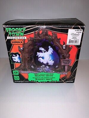 Lemax Halloween 🎃 Spooky Town Haunted Grove Tabletop Decoration #6423