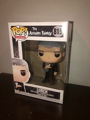 Funko POP LURCH with THING Addams Family IN HAND Rare New