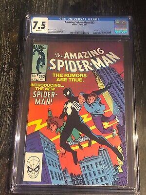 The Amazing Spider-Man #252 Frenz & Janson Cover CGC 7.5 (May 1984, Marvel)