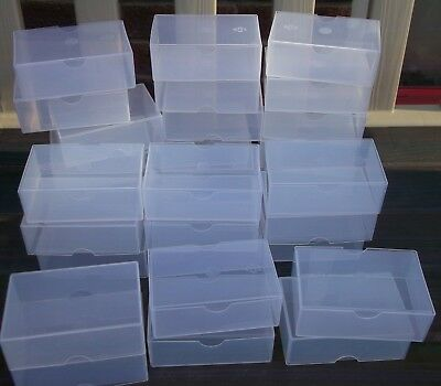 Business Card Plastic Boxes Holders New Craft Storage Boxes
