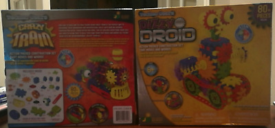 Learning Journey Techno Gears 2 PK Set including Dizzy Droid and Crazy Train