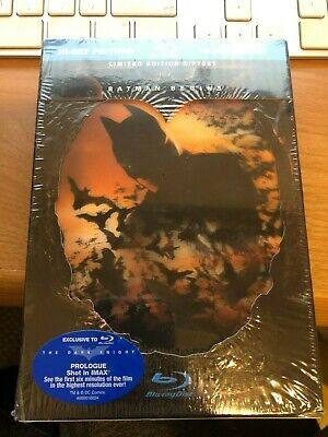 Batman Begins (Blu-ray Disc, 2008, Limited Edition Giftset) NEW, UNOPENED