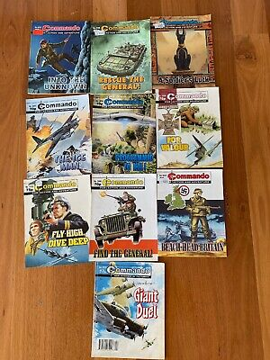 commando comics Lot Of 10 For Sale