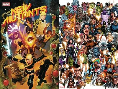 NEW MUTANTS 1 Main Cover + Every Mutant Ever Variant Hickman 2019 NM+ 11/6 Ship