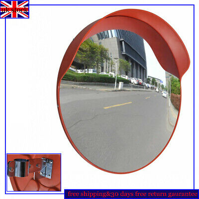 60CM Wide Angle Security Curved Convex Road Mirror Traffic Driveway Safety