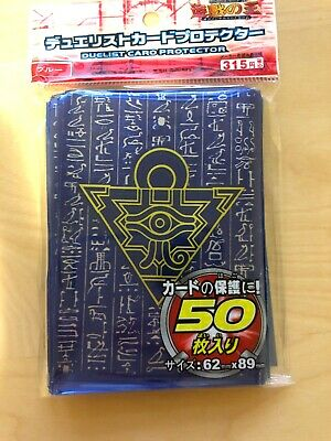 50 ct Translucent-Blue Soft Card Sleeves Plastic Deck Protector Yugioh