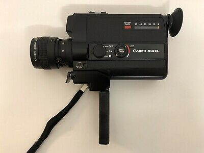 CANON 514XL Super 8 8mm Cine Film Camera Original Case Mint